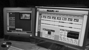 Dual-Monitor Pro Tools Workplace